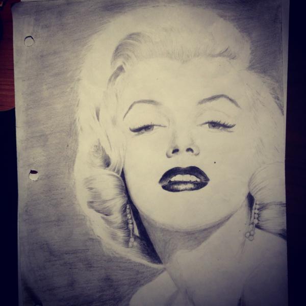Marilyn Monroe por tperfectionist